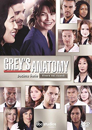 Grey\'s Anatomy 10 Serie (6 DVD)
