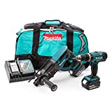 Makita DLX2025M 18 V Li-ion LXT Combo Kit Complete with 2 x 4.0