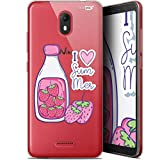 Ultra-Slim Milky Summer Design Case for 5.93 Inch Wiko View