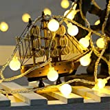 PESCA 50 Bulb String LED Fairy Lights for Home and Outdoor (8 m, Warm White)