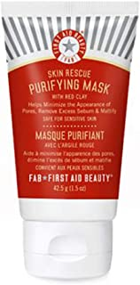First Aid Beauty Skin Rescue Purifying Mask with Red Clay (Skin Rescue Purifying Mask, 1.5oz)