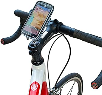 Amazon Com Xventure Xtreme Case Xl Bike Handlebar Weatherproof Water Resistant Clamp Mount For Smartphones Iphone X 8 Plus 7 Se 6s 6 5s 5 Samsung Galaxy S9 S8 S7 S6 S5 Note