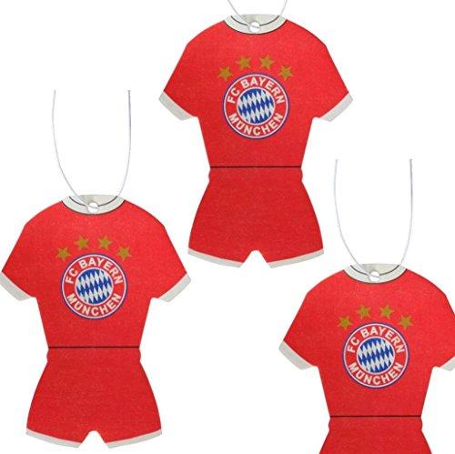 FC BAyern München Lufterfrischer 2012/13 3er Set FC B Fanartikel