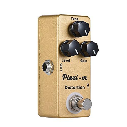 ammoon MOSKY Plexi-m E-Gitarren-Verzerrungs-Effektpedal Vollmetallgehäuse True Bypass