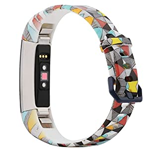 honecumi Replacement Bands Compatible with Fitbit Alta/Fitbit Alta Hr Watch Band/Strap/Bracelet Wristband for Men & Women Colorful Exchange Sport Strap Smartwatch Wrist Bands -Metal Clasp Band