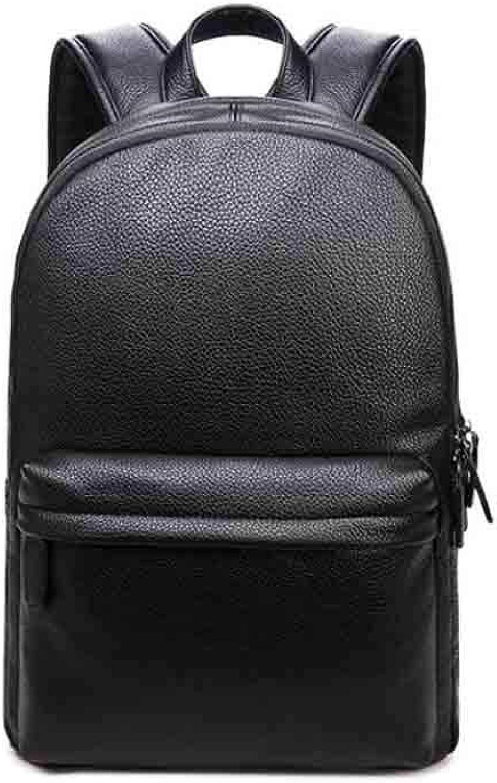 Anab Fashion Shoulder Bag Rucksack PU Leather Mens Backpack Travel Bag