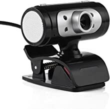 Yuxahiugstx HD 720P USB Webcam, Computer Camera with Microphone Free Drive, Support Microphone Switch, Laptop Or Desktop f...