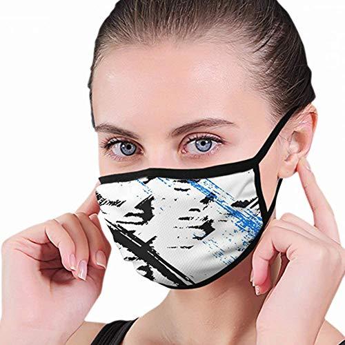 Mondmasker, Stoere brede penseelstreken The Arts-mondkap, comfortabele mondmaskers voor jongens, meisjes, heren, dames