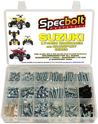 06 suzuki ltr 450 exhaust - 7