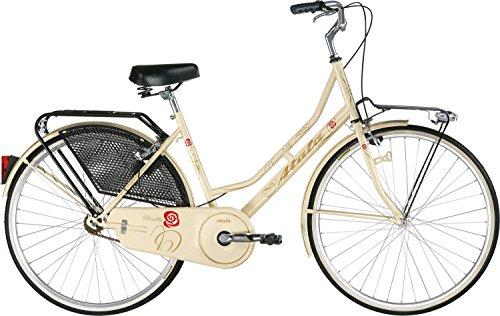 Bicicletta Atala citybike tipo Holland, modello PICCADILLY, color crema, telaio 26', misura 46 (taglia unica)