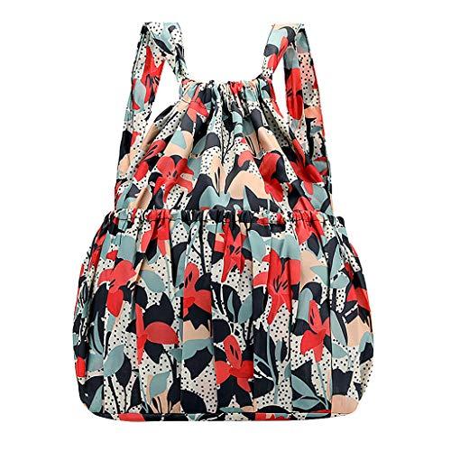 TWIFER Daypacks Casuales Bolsa de Viaje Uso Diario Estilo etnico Mochila Viaje Mochila Impermeable para Mujer Gran capacidad Multi-Función Ideal para Niñas/Mujeres/Estudiantes/Viajes