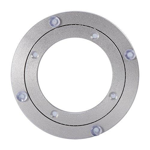 Weikeya Cuscinetto da tavola, Metallo Realizzato in Lega di Alluminio in Lega di Alluminio in Lega di Alluminio Giradischi