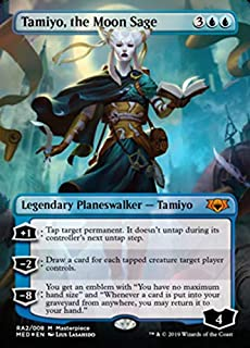 Magic: The Gathering - Tamiyo, The Moon Sage - Ravnica Allegiance - Mythic Edition