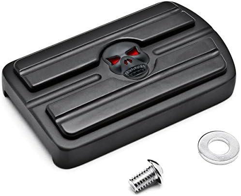 Krator Black Max 81% OFF Brake Pedal Pad NonSlip Cover Rubber Super Special SALE held Compatib