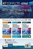 Test Medicina, Odontoiatria, Veterinaria 2021: Kit Completo. In omaggio simulatore, video-lezioni ed e-book con le prove ufficiali dal 2002 Al 2020