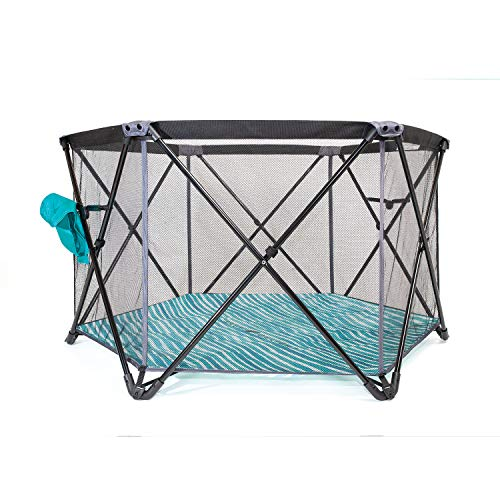 Baby Delight Baby Delight Go With Me Haven Portable Playard, Standard, Teal, 49x28 Inch (Pack of 1)