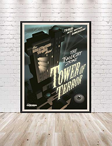 Tower of terror print gift idea Best Gifts for Hollywood Studios Fans
