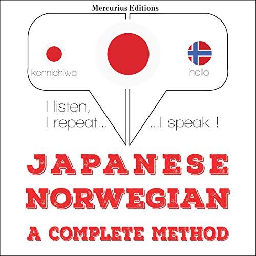 Japanese - Norwegian. a complete method cover art