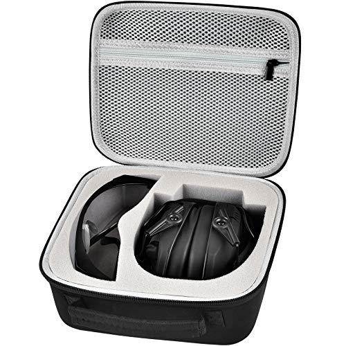 Nichtig Tasche für Honeywell 1013530 Howard Leight Impact Sport Ohrenschützer(Schwarz)
