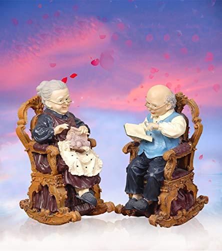 YB&GQ Resina Compromiso Estatuas para Valentine