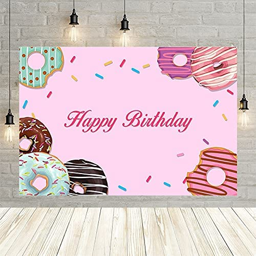 Donuts Photography Background 4 years warranty Pink Chocolate Don't miss the campaign Bi Ring Cheese Girl