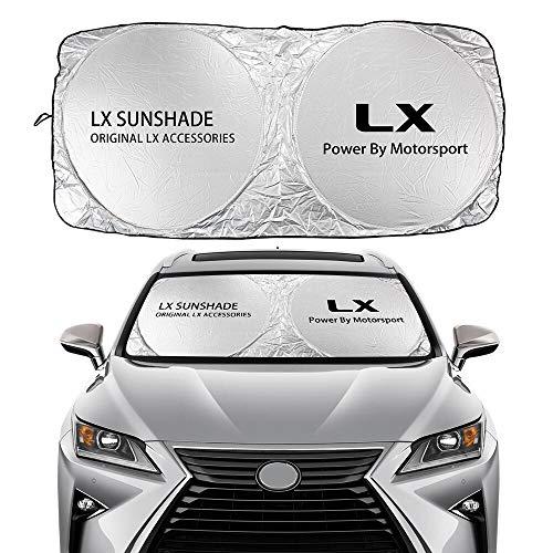 Parasol Coche Parabrisas de coches cubierta de sombrilla Compatible con Lexus CT200H...