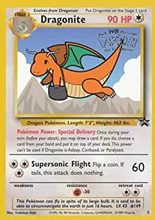 Pokemon - Dragonite (5) - Wizards Black Star Promos