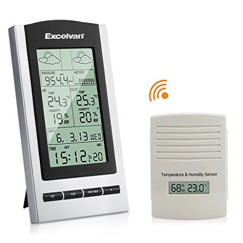 Excelvan Stazione Meteo Meteorologiche Wireless con...