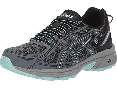 ASICS Women's Gel-Venture 6 MX Running Shoes, 9M, Black/ICY Morning