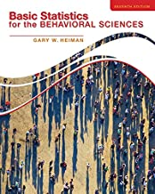 Best basic statistics for the behavioral sciences 7th edition Reviews