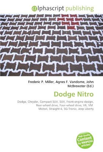 Dodge Nitro: Dodge, Chrysler, Compact SUV, SUV, Front-engine