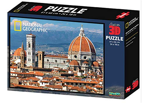 Partycolare Puzzle 3D Duomo di Firenze 500 pz 61x46 cm