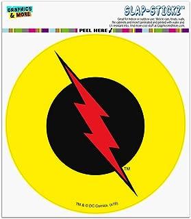 Graphics and More The Flash Reverse Flash Logo Automotive Car Window Locker Circle Bumper Sticker