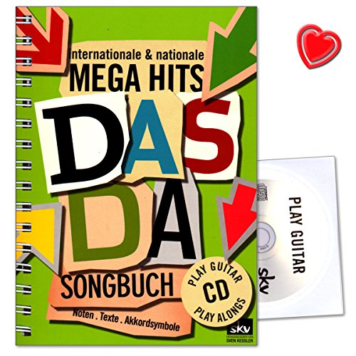 Das Da Songbuch - Internationale and nationale Mega Hits - SKV Sven Kessler - 9783938993354