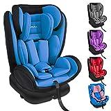 XOMAX KI360 Kindersitz drehbar 360° mit ISOFIX und Liegefunktion I mitwachsend I 0-36 kg, 0-12...