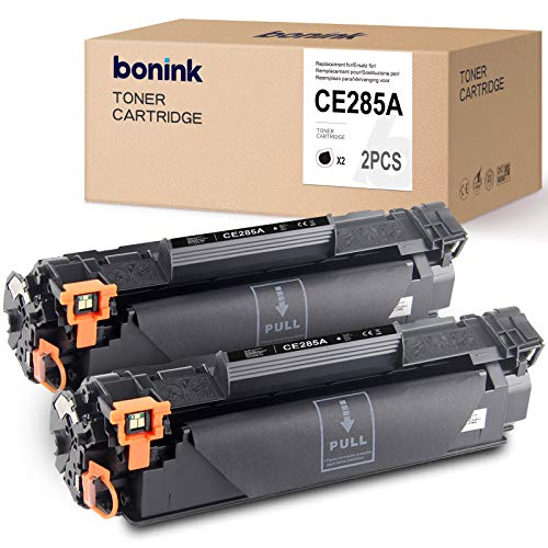 BONINK Compatible con HP 85A CE285A tóner negro para HP Laserjet P1102W M1212NF M1132 MFP M1210 M1130 M1217NFW