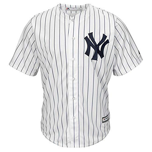 Majestic MLB Baseball Trikot Jersey New York NY Yankees Cool Base weiß (XL)