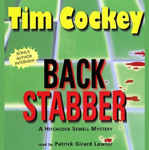 Back Stabber audiobook cover art