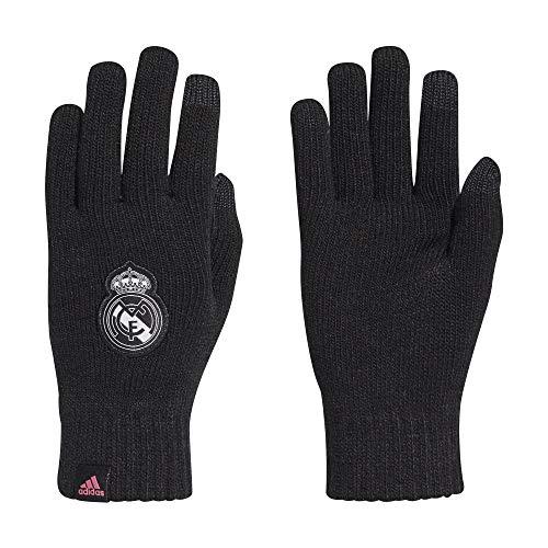 adidas Herren Real Handschuhe, Black/White/Sprpnk, L