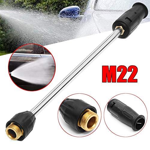 Alta presión de limpieza limpieza de la pistola de la manguera Kit Car F 22 MPa-3000PSI, M22 variable boquilla de alta presión limpiador de pistola de pulverización