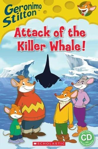 GERONIMO STILTON ATTACK OF THE KILLER WHALE STARTER BOOK+CD (Popcorn Readers)