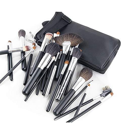 Kit de 32 pinceaux de maquillage professionnel pour débutants Outil de maquillage avec pack de pinceaux Pinceau pour cosmétiques de beauté avancés-black