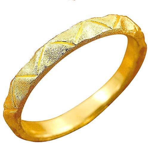 [アトラス]Atrus リング レディース 純金 24金 エンゲージリング ホーニング加工 地金リング ストレート 指輪 12号