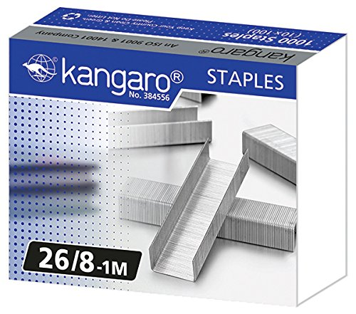 Kangaro Ka26 81 M Número De Grapas 26 8 1 M 1000 Unidades