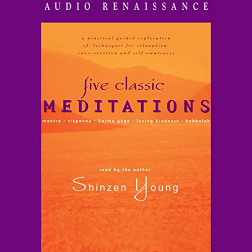 Five Classic Meditations audiobook cover art