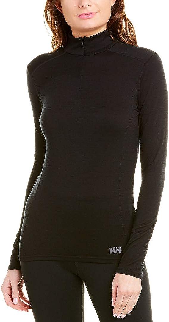 Helly Hansen Women's HH Wool 1/2 Zip Base Layer Shirt