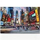 wzgsffs New York City Times Square Wandkunst Bild Stadtbild
