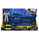 Bizak- DC Comics Batmovil y Figura Batman Bat Tech 30 cm (61927836)