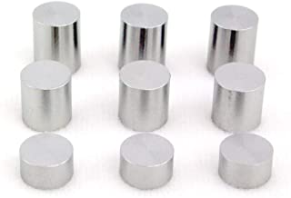 Pinewood Derby Car Tungsten Weight 9-Pack - Incremental Weights and Sizes