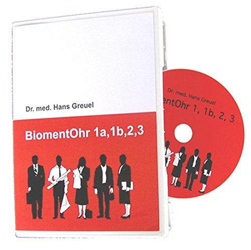 BiomentOhr 1a, 1b, 2, 3 Körperklänge als Klangsuggestion zur Regulierung von Ohrgeräuschen